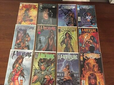 Lot One of 12 WITCHBLADE Comics TOP COW IMAGE HIGH GRADE Micheal Turner COOL!