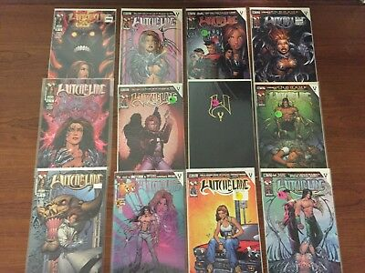 Lot Three of 12 WITCHBLADE Comics TOP COW IMAGE HIGH GRADE Micheal Turner COOL!