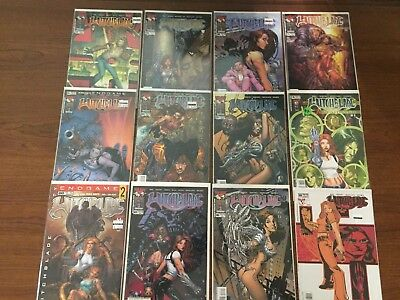 Lot Four of 12 WITCHBLADE Comics TOP COW IMAGE HIGH GRADE Micheal Turner COOL!