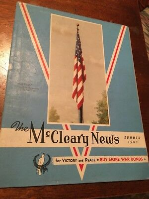 The McCleary News Summer 1943 Victory & Peace Buy More War Bonds