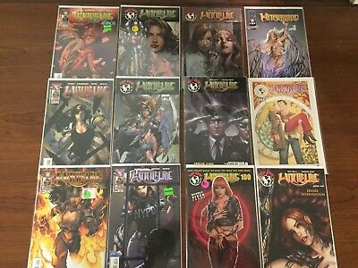 Lot Six of 12 WITCHBLADE Comics TOP COW IMAGE HIGH GRADE Micheal Turner COOL!