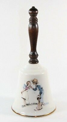 Norman Rockwell Beguiling Buttercup Gorham Loves Harmony Fine China Bell