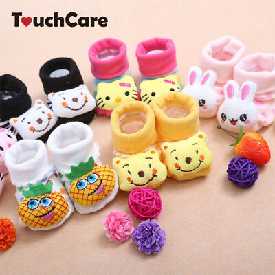 Newborn Baby Socks Animal Cartoon Doll Infant Socks Model Anti-slip Socks
