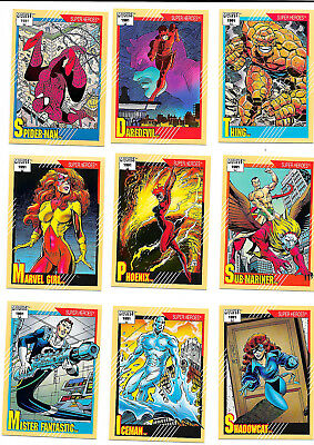 Marvel Universe Series 2 1991 Impel Complete Base Set of 162 Trading Cards