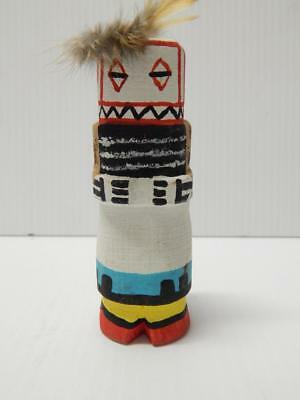 VINTAGE HOPI INDIAN HIGHWAY ROUTE 66  KACHINA - by GEORGE POOLEY - uniq styl NR