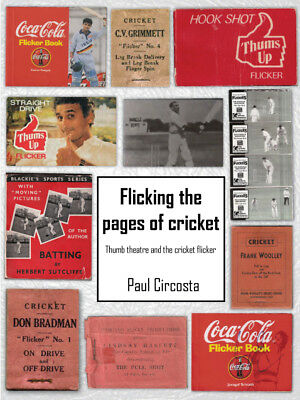"""""""Flicking the Pages of Cricket"""" - book (postage free in Australia!)"""