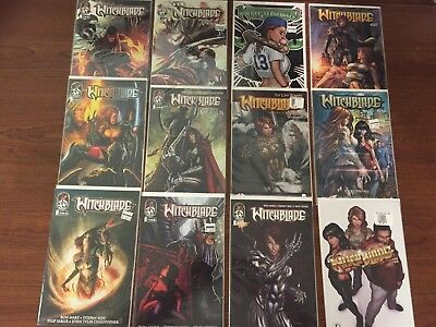 Lot Seven of 12 WITCHBLADE Comics TOP COW IMAGE HIGH GRADE Micheal Turner COOL!