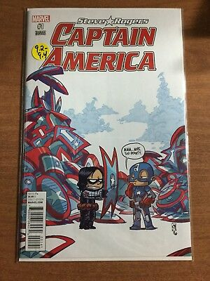 Captain America: Steve Rogers #1 Skottie Young  (2016,Marvel)   NM 9.2-9.4