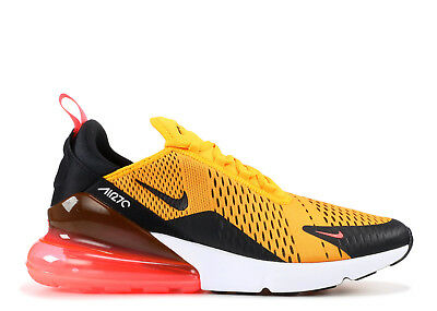 Nike Air Max 270 Tiger Black University Gold Hot Punch AH8050-004 size 8-13