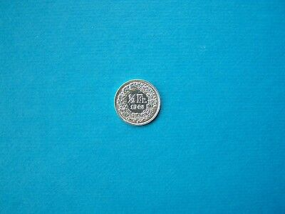 Switzerland Coins 1948 Year 1/2 Franc Nice Silver Coin.