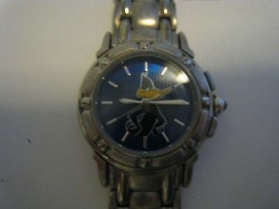 Vintage Collectible Daffy Duck Wrist Watch Wristwatch by Fossil.