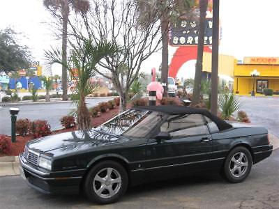 Cadillac: Allante factory Both soft and hard-top. Both sets of factory wheels, standard and optional chome
