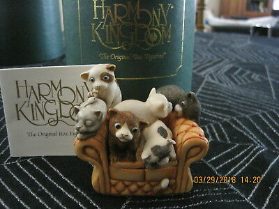 Harmony Kingdom Confined Claws 7 Kittens Collect it! Magazine Exclusive SGN