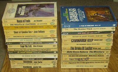 LOT #33: 27 Lancer Books GOTHIC ROMANCE novels 1960s paperbacks Jan Alexander