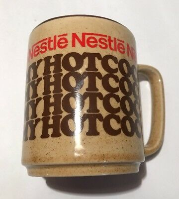 Nestle Rich N Creamy Hot Cocoa Mug Cup Vintage Made In Japan