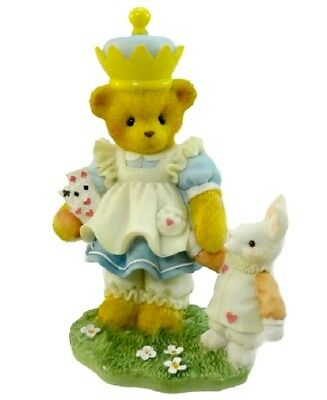 "Cherished Teddies Alice In Wonderland ""alicia"" #302465  New * Free Shipping"