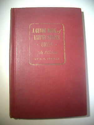 1952/53 RED BOOK R.S. YEOMAN Guide Book of United States Coins 5th Edition Fine