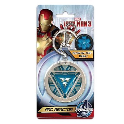*NEW* Marvel Iron Man 3: Arc Reactor Glow-in-the-Dark Key Chain by Monogram