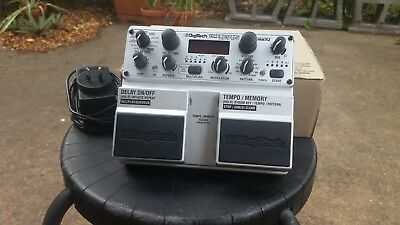 Digitech Timebender Stereo Delay Pedal - Freeze, Loop, Tape, Tap, Pitch-Shift +