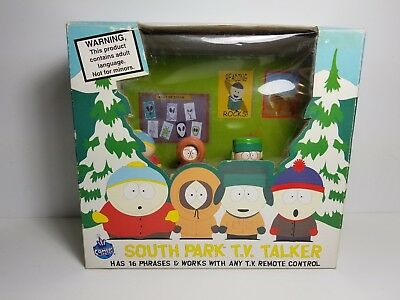 South Park TV Talker 1998 Sealed 16 phrases works with TV Remote Control