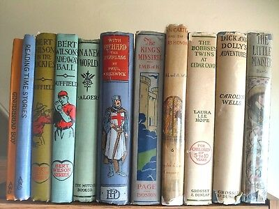 Lot of 11 Antique/Vintage Children's Books from early 20th Century