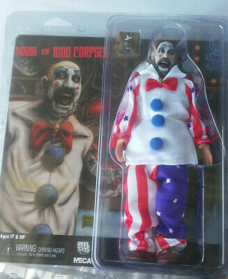 """NECA 8/"""" Retro Style Clothed Figure House of 1000 Corpses Captain Spaulding"""