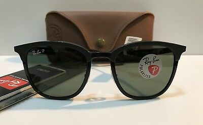 Authentic Ray Ban 0RB4278 62829A BLACK/MATTE BLACK Sunglasses