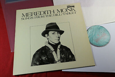 Meredith Monk  SONGS FROM THE HILL / TABLET  LP Wergo SM 1022 Germany sehr gut