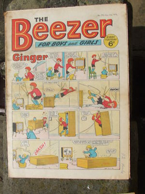 The Beezer No 775. (1970).  Good postage savings made on multiple purchases.