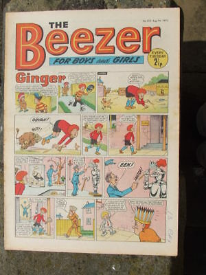 The Beezer No 812. (1971).  Good postage savings made on multiple purchases.