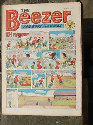 The Beezer No 809. (1971).  Good postage savings made on multiple purchases.