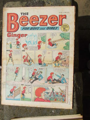 The Beezer No 806. (1971).  Good postage savings made on multiple purchases.