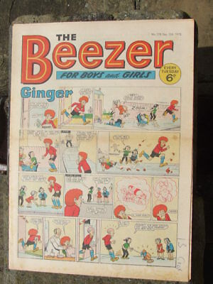 The Beezer No 778. (1970).  Good postage savings made on multiple purchases.
