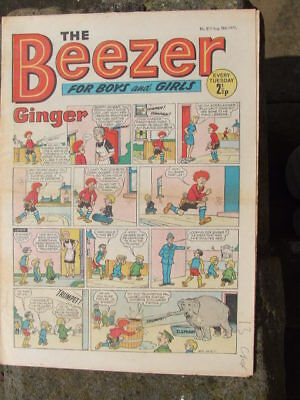 The Beezer No 815. (1971).  Good postage savings made on multiple purchases.