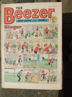 The Beezer No 824. (1971).  Good postage savings made on multiple purchases.