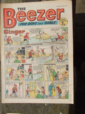 The Beezer No 823. (1971).  Good postage savings made on multiple purchases.