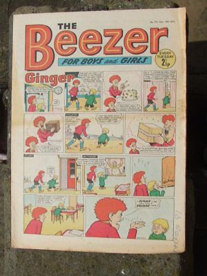 The Beezer No 791. (1971).  Good postage savings made on multiple purchases.