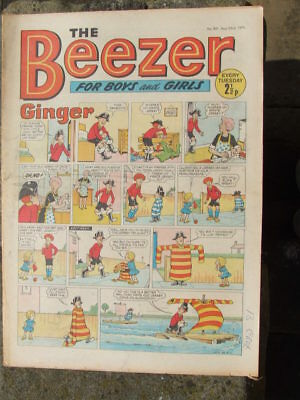 The Beezer No 801. (1971).  Good postage savings made on multiple purchases.