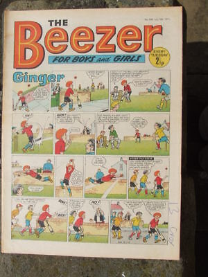 The Beezer No 808. (1971).  Good postage savings made on multiple purchases.