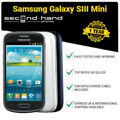 Samsung I8200 Galaxy S III S3 Mini Value Edition - Unlocked - Android Smartphone