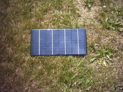 5W  Baitboat Resin Solar Panel Battery Charger For 12V Bait Boat & Carp Fishing