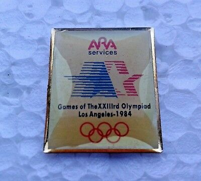 Pin's jeux olympiques Los Angeles 1984 Ara Services