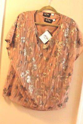 876ddc4d5a1 NEW GORGEOUS Bob Mackie Sequin Top And Tank Set Bronze 1X -  16.99 ...