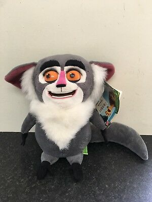 "Maurice from Penguins of Madagascar Movies 10"" Plush Soft Toy With Tag"