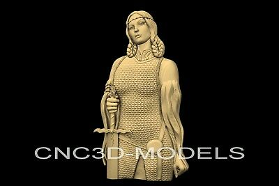 3D Model STL for CNC Router Engraver Carving Relief Artcam Aspire Women n713