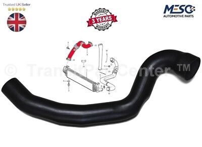 Volvo C30 C70 S40 V50 2.0D Intercooler Turbo Hose Pipe 31261896
