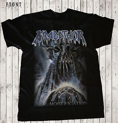 KRABATHOR-Cool Mortification-Death metal-Hypnos-Root,Black T-shirt sizes Sto 6XL