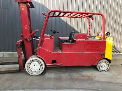 40,000 lbs. Capacity Cat Solid-Tire Forklift For Sale