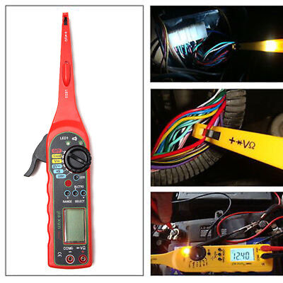 KWOKKER NEW Multi-function Auto Circuit Tester Multimeter Lamp Car Repair Automo