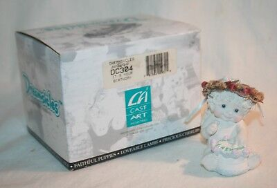 """1995 Cast Art Ind. Dreamsicles DC304 """"It's Your Birthday"""" Kristin 96, With Box"""